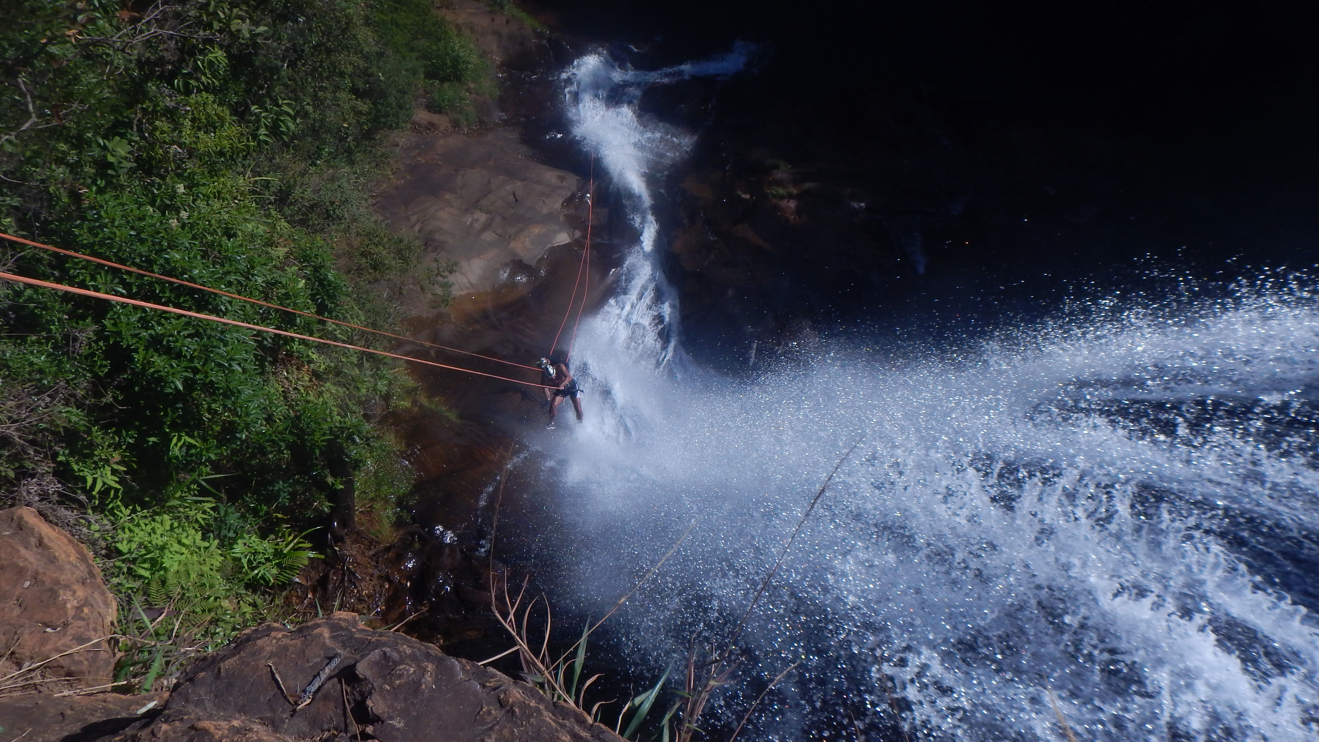 Rapel Cachoeira Chica Dona – Rio Acima – MG