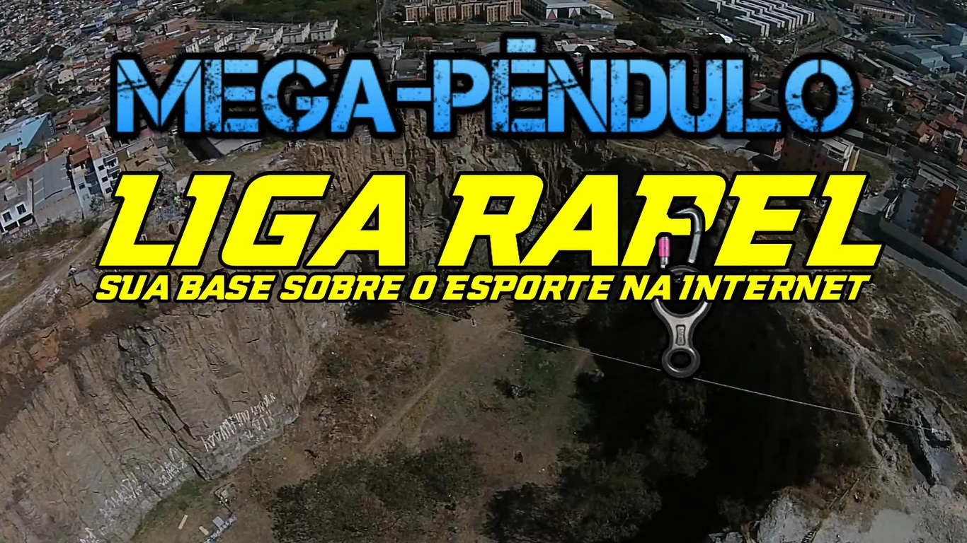 Mega-Pêndulo Pedreira Santa Rita – Contagem – MG