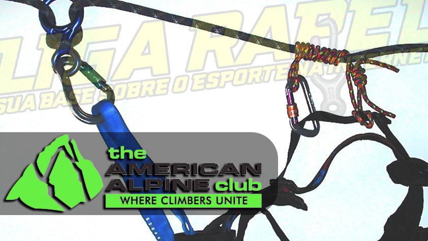 AAC (American Alpine Club) publica artigo com advertência sobre utilização de backup durante o rapel no loop da perna de cadeirinhas com regulagem rápida