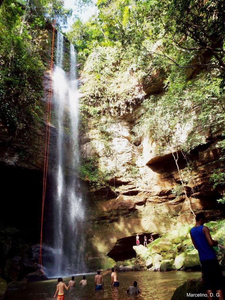 Notícia – Roncadeira, cachoeira de Palmas pode secar com redução no volume.