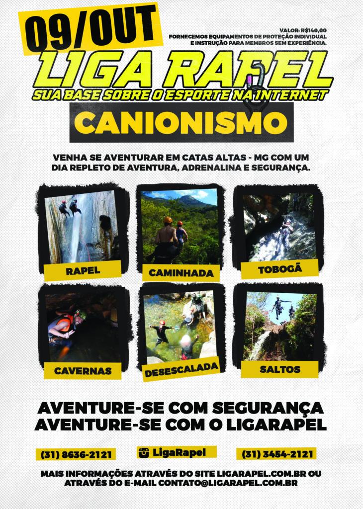 Canionismo Catas Altas - Minas Gerais