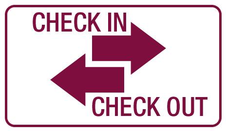 Check-in e Check-out da sua aventura! Aprenda como realizar!