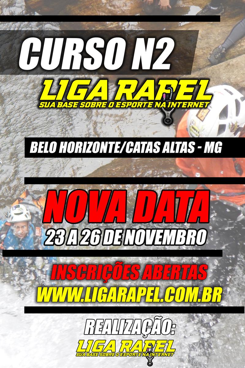 Curso N2 – Liga Rapel – Novembro – Catas Altas – MG.