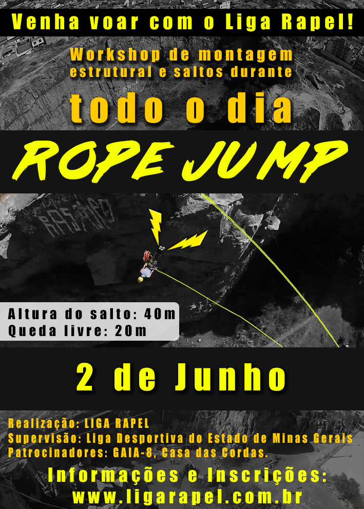Rope Jump 40m – Belo Horizonte, MG